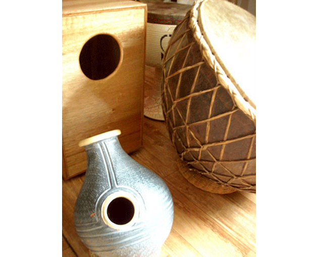 Kajon, Udu and Kettle drum
