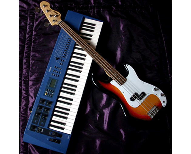 Keyboard and Bass